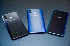 三星Galaxy A8s冷色调设计诠释潮流与科技并重的美学